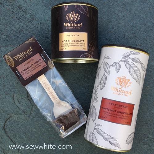 Sew White Chocolate week things to buy 1