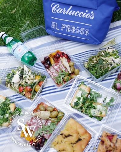 Sew White sewwhite Carluccios picnic 2