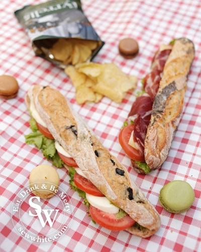 Sew White sewwhite Paul Bakery picnic 3