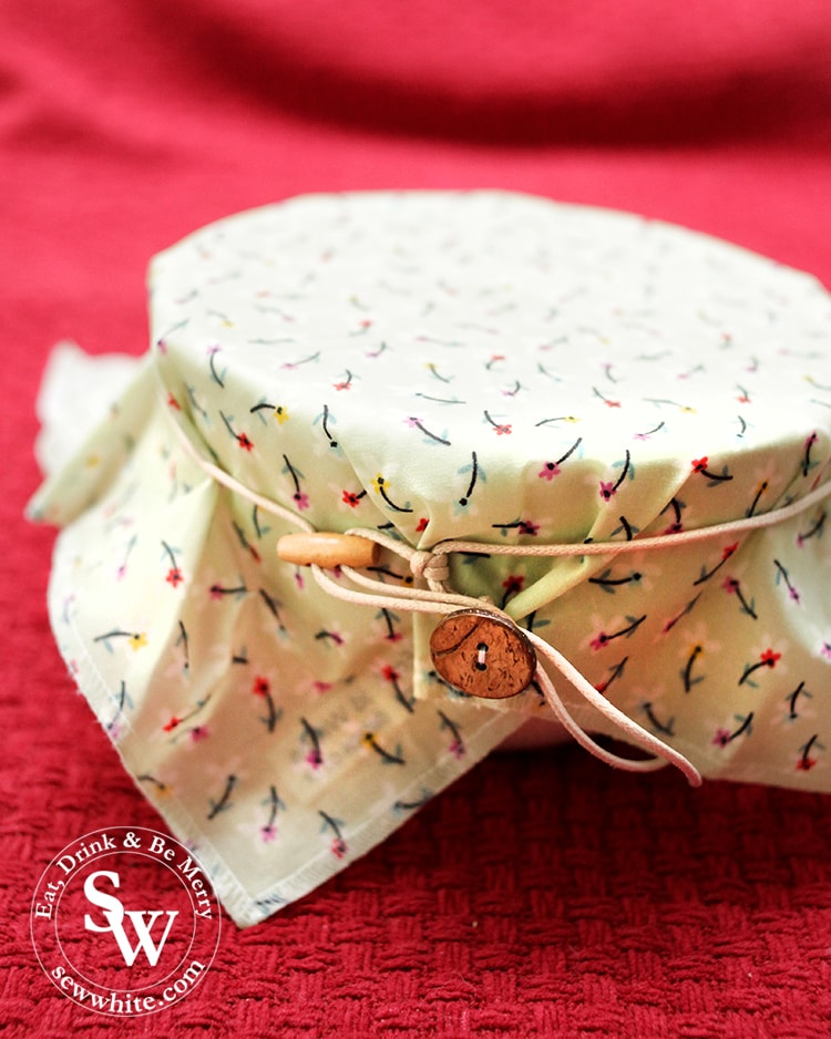 Wax eco food wraps replacing cling film in the kitchen in the top 5 Eco Gifts for Christmas