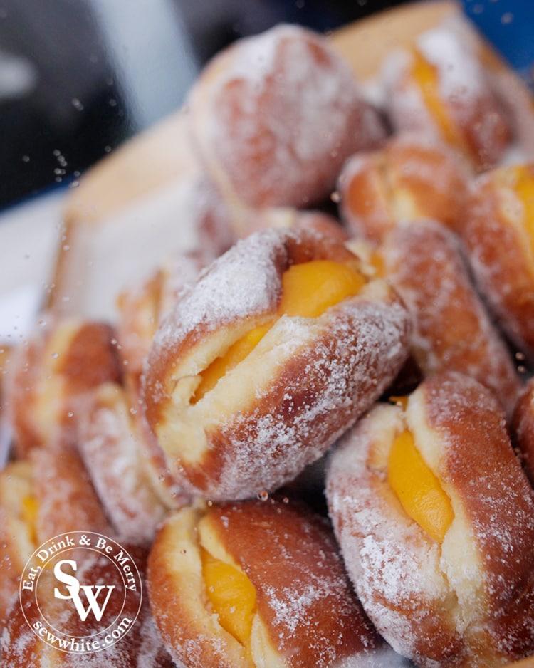custard doughnuts by Luso Brazil