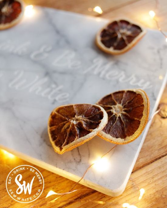 Always personal chopping board for Sew white in the Be Merry gift guide