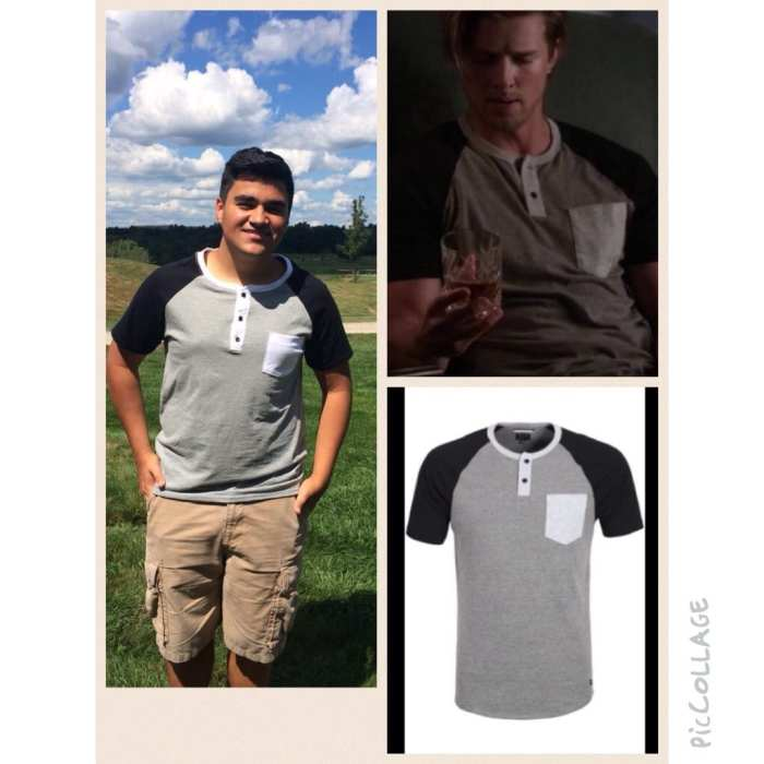 Colorblock Shirt as Worn by Jason on Pretty Little Liars