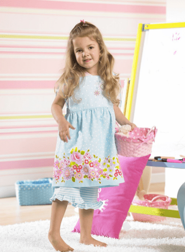 Free Child Dress Pattern: Bernina Dress
