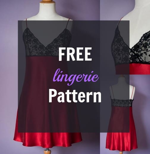 Free Lingerie Pattern: The Ruby Slip
