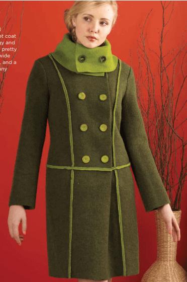 Coat FREE Pattern