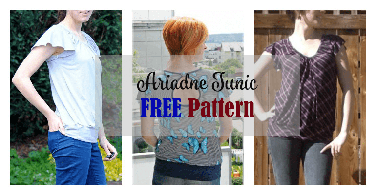Ariadne Tunic FREE Pattern - My Handmade Space