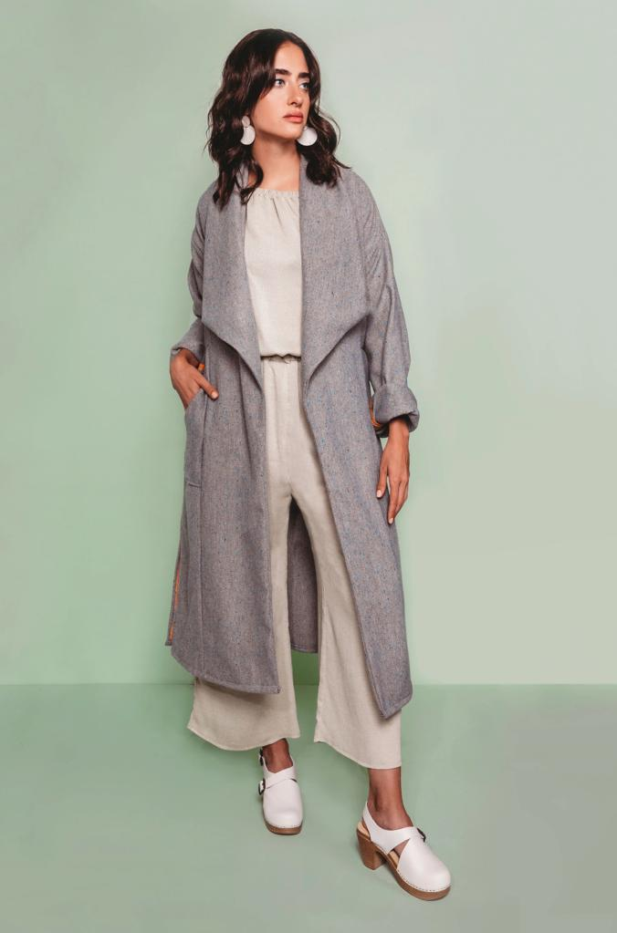 Cambria Duster Coat Free Pattern