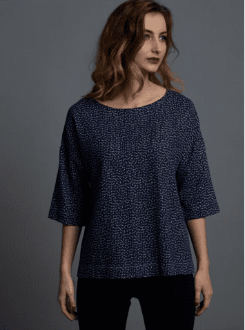 Drop Sleeve Top Free Sewing Pattern