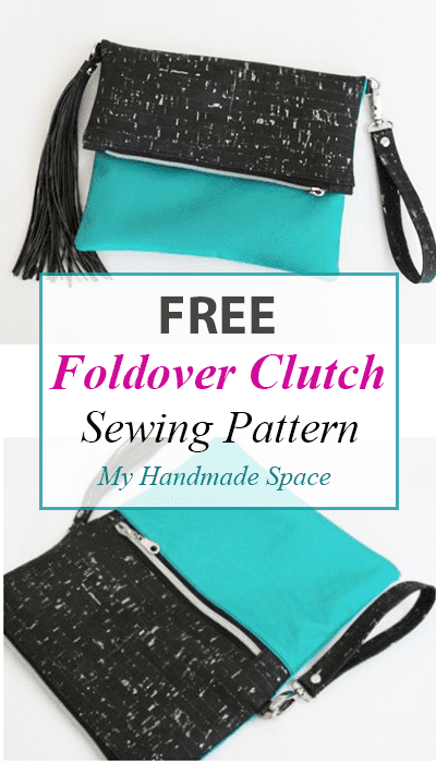FREE Foldover Clutch Sewing Pattern