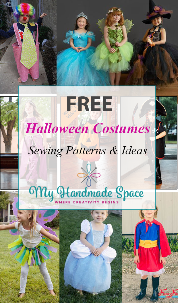FREE Halloween Costume Sewing Patterns - My Handmade Space