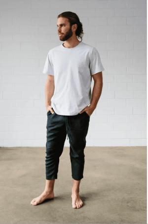 Sage Men T- Shirt Free Sewing Pattern