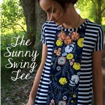 The Sunny Swing Tee Free Pattern