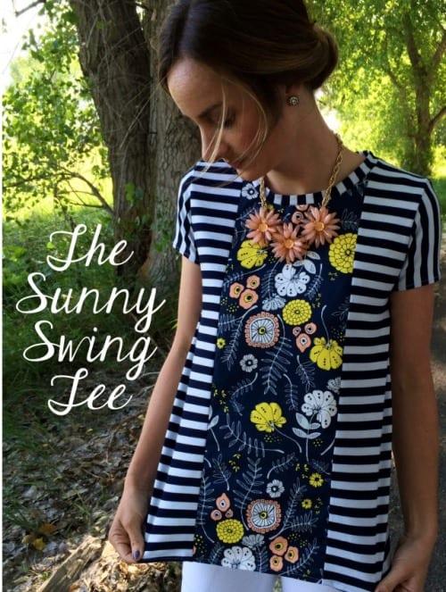 The Sunny Swing Tee Free Pattern