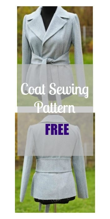 Coat Sewing Pattern Free - My Handmade Space