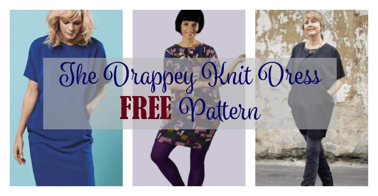 The Drapey Knit Dress Free My Handmade Space