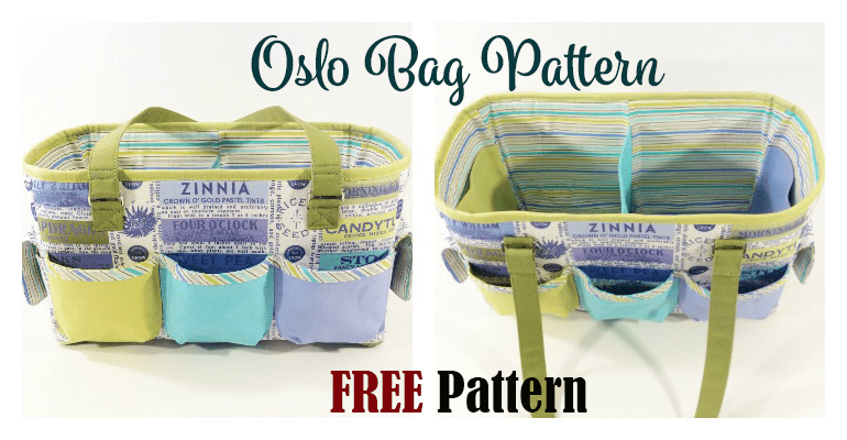 Oslo Craft Bag FREE Pattern
