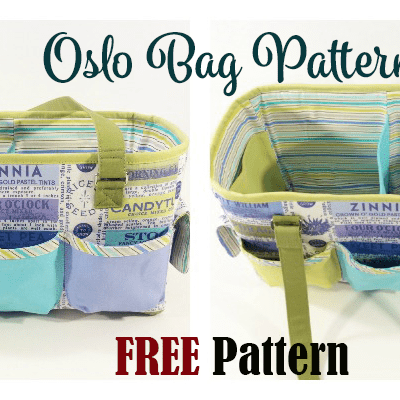 Oslo Craft Bag FREE Pattern