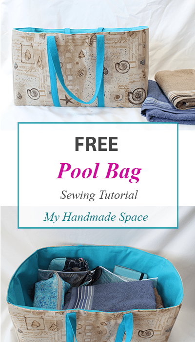 Pool Bag Sewing Tutorial