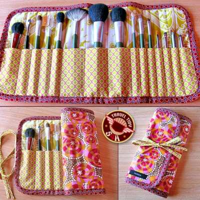 makeup brush case sewing pattern