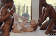 NAOMI WOODS FUCKED BY TWO BLACK COCKS – BLACKED