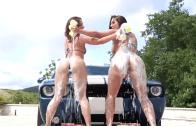 Jada Stevens & Kelly Divine Interracial  Sex Anal