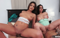 ADA SANCHEZ & CARRIE BROOKS – TEENS ORGY