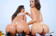 Brazzers – The Spanksgiving Spectacular!!! – Kelly Divine & Kristina Rose