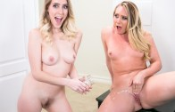Girlsway – AJ Applegate & Cadence Lux – The Squirting Contest
