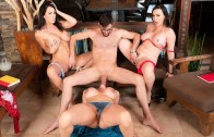 Sneaky Sex – Brandi Bae – Butt Floss And Pussy Brush