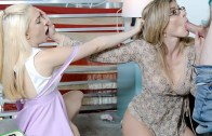 BadMilfs – Cory Chase, Jane Wilde – Rocking My Stepmoms Rhombus