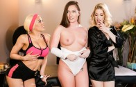All Girl Massage – Two is Better Than One – Maddy O'Reilly, Charlotte Stokely & Luna Star