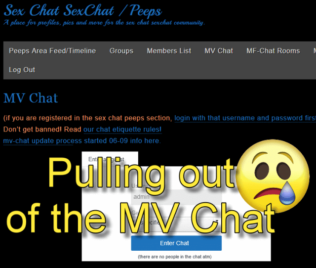 Mv Chat Pullout Tear Emoji Sad