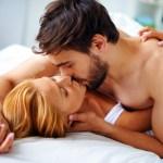 Couple explores the health benefits of sex