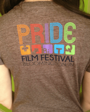 Debby Herbenick, supporting the Bloomington Pride Film Festival