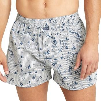 Jockey Kalsonger USA Originals Woven Boxer Shorts Ljusblå bomull Large Herr
