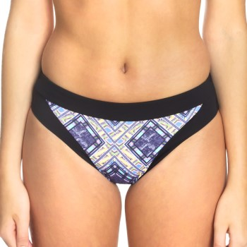 Sunseeker Tribe Attack Full Classic Bikini Panty Svart mönstrad 44 Dam