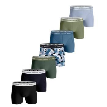 Björn Borg Kalsonger 7P Essential Shorts 2117 Flerfärgad bomull Large Herr