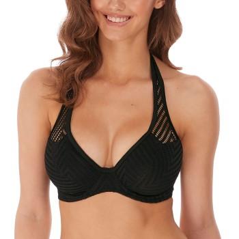 Freya Urban Underwire Halterneck Bikini Top Svart I 80 Dam