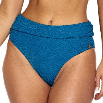 Panos Emporio Diva Chara Folded Bikini Brief Blå polyester 40 Dam