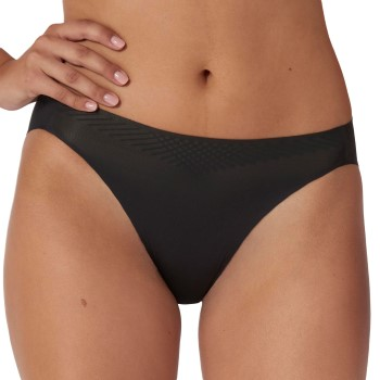 Sloggi Trosor 4P Body Adapt High Leg Brief Svart Large Dam