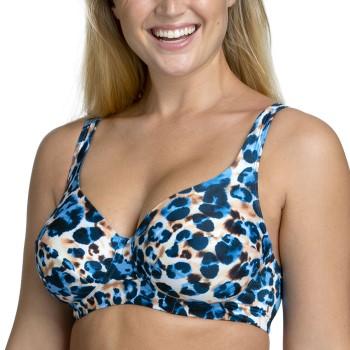 Miss Mary Jungle Summers Underwire Bikini Bra Blå Mönstrad F 85 Dam