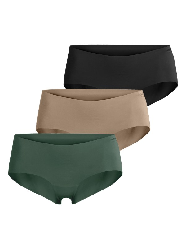 SEASONAL SOLID HIPSTER 3-PACK DUCK GREEN,36