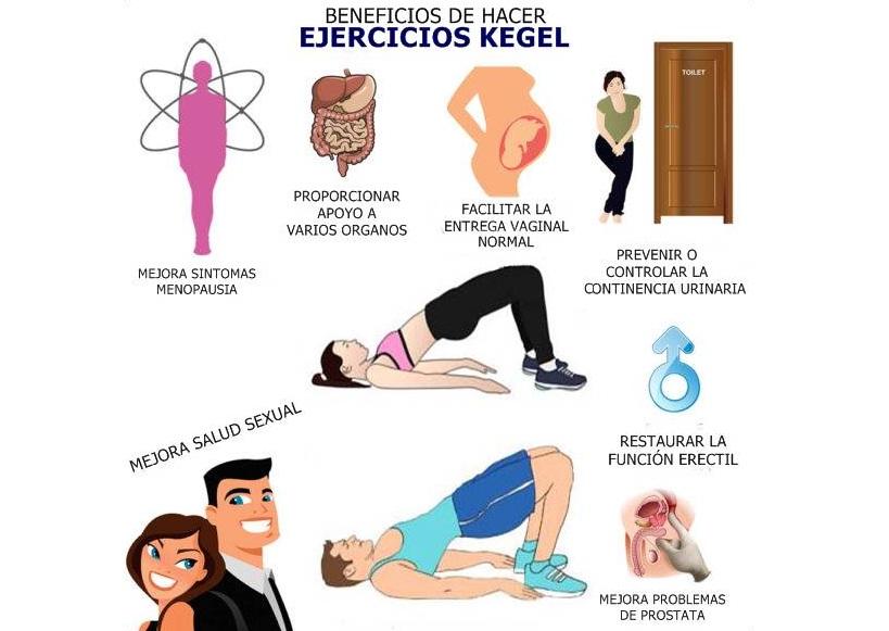 Ejercicios de Kegel para la mejora de la respuesta sexual por sexologos valencia