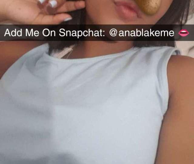 Hot Girl Nudes Sexting On Snapchatanablakeme Sextfun