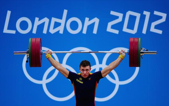 Andrés durante su participación en los Juegos de Londres. Fuente: foro.delcelta.com