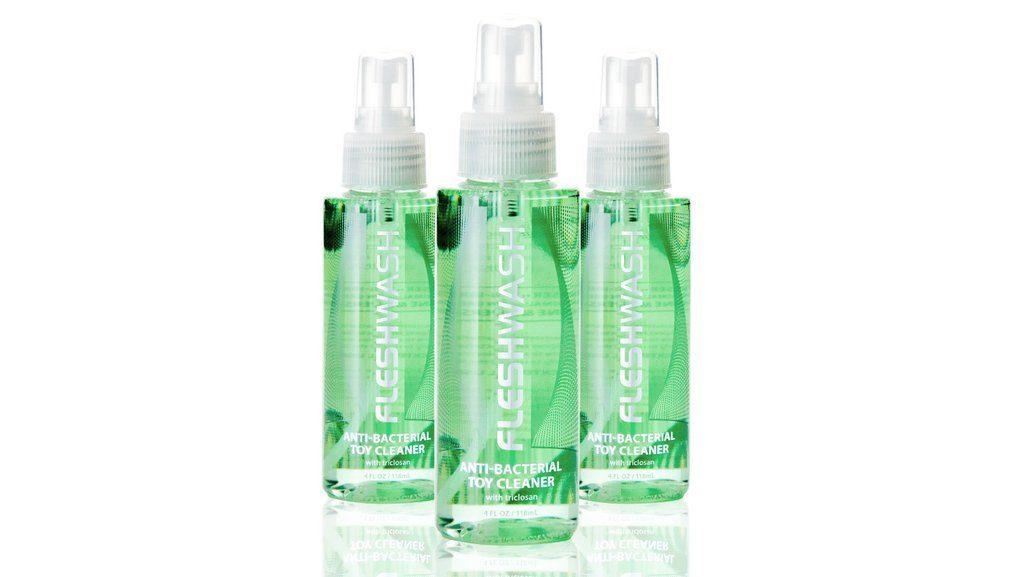 Fleshwash Anti-Bacterial Cleaner Bottles For Fleshlight