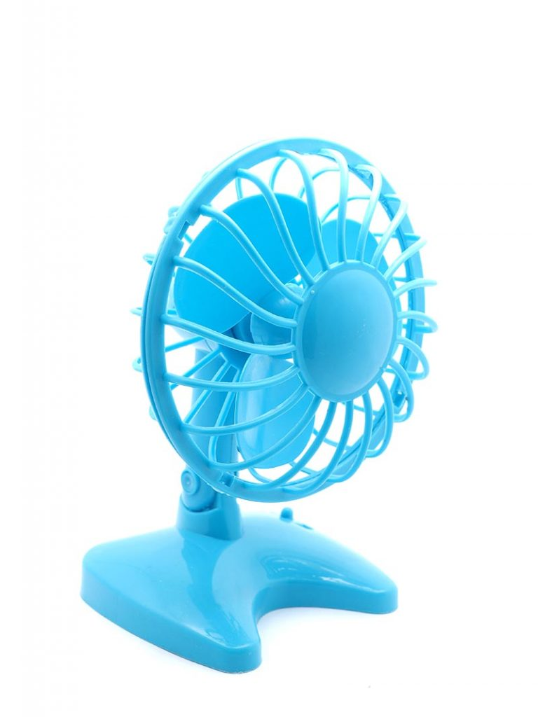 Drying with a mini-fan