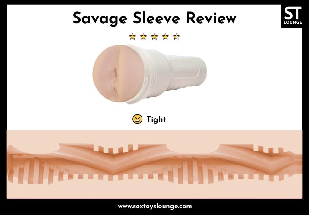 Fleshlight Savage Sleeve Review