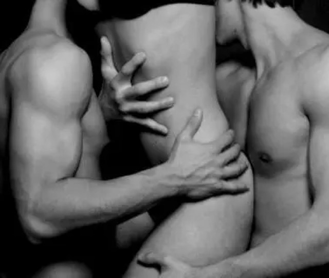 Sensual Mfm Threesome Pic Black And White